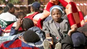 Hunderte fliehen in südafrikanische Botschaft