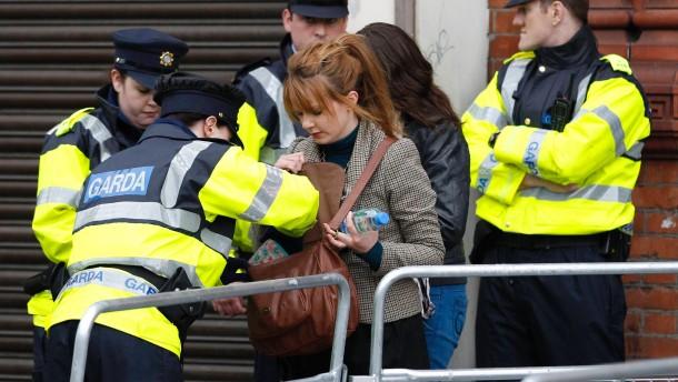 Bombenfund vor Queen-Besuch in Dublin