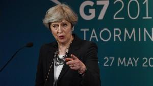 May zeigt sich dünnhäutig nach Corbyn-Äußerung