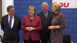 Schnellstmöglich zur großen Koalition