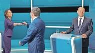 Nicht jede Stimme zählt: Wie die Forsa-Biltzumfrage zum RTL-Triell zustande kam