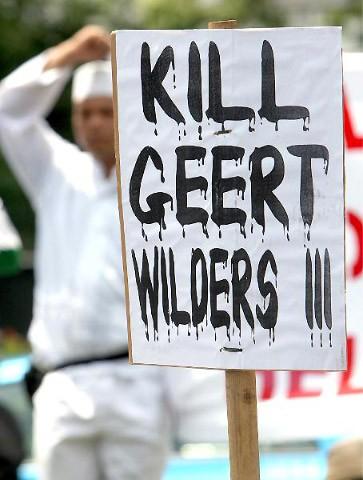 Geert Wilders und seine Frau leben abgeschottet, weil er Todesdrohungen erhält