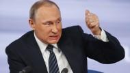 Der russische Präsident Wladimir Putin steht unter Verdacht, den Mord an Alexander Litwinenko unterstützt zu haben.