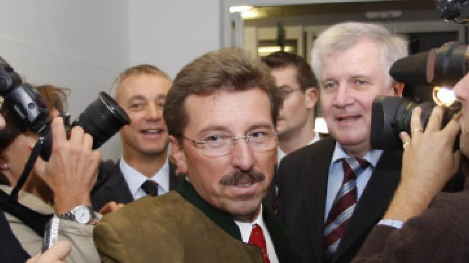 Zog seine Kandidatur für die Beckstein-Nachfolge zurück: Georg Schmid, Fraktionsvorsitzender der CSU im Bayerischen Landtag