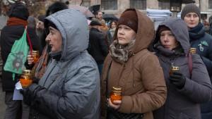 Moskau gedenkt Stalin-Opfern