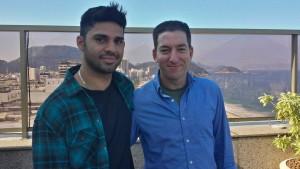 Greenwalds Partner festgesetzt und verhört