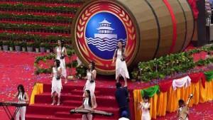 """Olympische Vorfreude in Chinas """"deutscher"""" Stadt"""