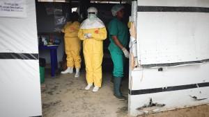 Ebola in der Zange
