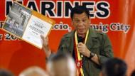 Dutertes Spiel auf Risiko