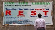 WHO gesteht Versagen bei Ebola ein