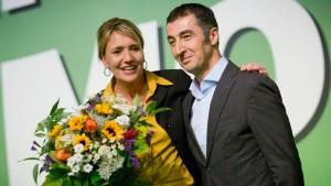 Simone Peter und Cem Özdemir führen die Grünen