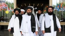 Taliban sprechen von baldigem Friedensabkommen mit Amerika