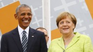 Obama unterstützt strengere Asylpolitik der Kanzlerin