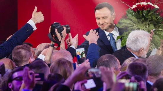 Andrzej Duda gewinnt Präsidentenwahl in Polen