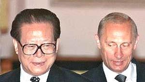 Putin und Zemin wollen Raketenabwehrvertrag beibehalten