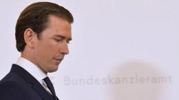 Misstrauensvotum gegen Kanzler Kurz am Montag