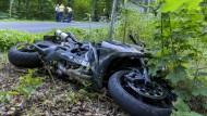 Deutlich mehr Motorradunfälle im Jahr 2014