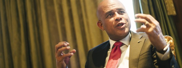 """Sweet Mickey"": Michel Martelly in Berlin"
