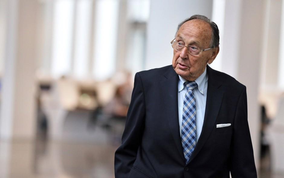 Der ehemalige Bundesaußenminister Hans-Dietrich Genscher (FDP)