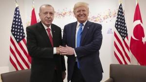 Trump und Erdogan sticheln gegeneinander