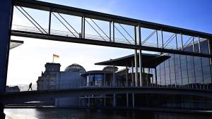 Machtlos gegen den aufgeblähten Bundestag