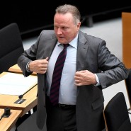 Der Berliner AfD-Vorsitzende Georg Pazderski