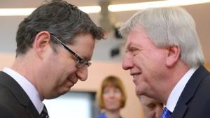 Bouffier und Schäfer-Gümbel verlieren