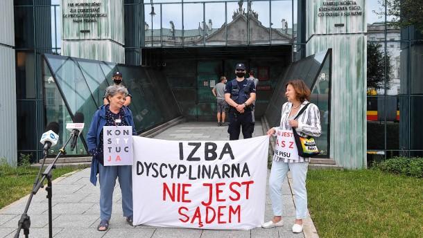 Polen signalisiert Einlenken im Streit mit der EU