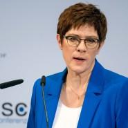 Parteivorsitzende auf Abruf: Verteidigungsministerin Annegret Kramp-Karrenbauer auf der Münchner SIcherheitskonferenz