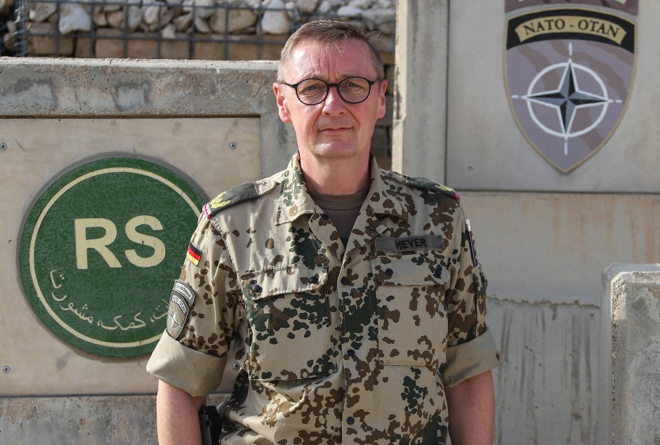 Von Mazar nach Calw: Brigadegeneral Ansgar Meyer, Kommandeur des letzten deutschen Afghanistankontingents