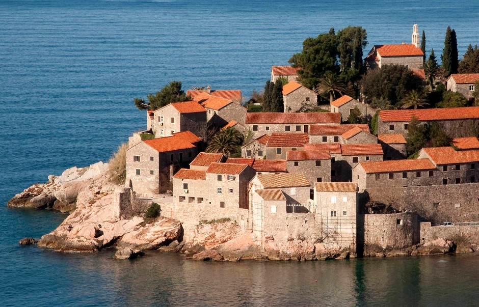 Objekt der Begierde: Hotelressort Sveti Stefan an Montenegros Adriaküste