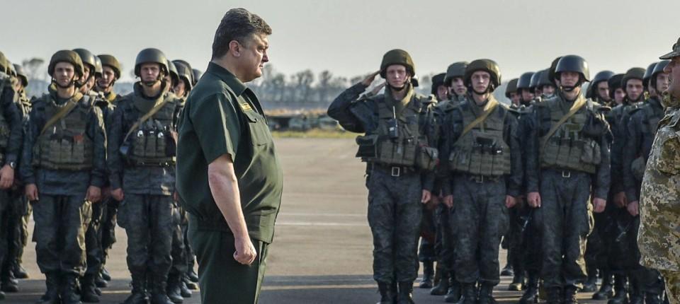 Poroschenko will aufrüsten