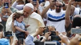 Papst: Homosexuelle Paare sind keine Familien