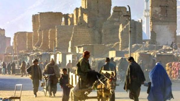 Afghanistan erhält Hilfszusagen in Milliardenhöhe