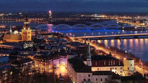 Lettland und die Krise Osteuropas