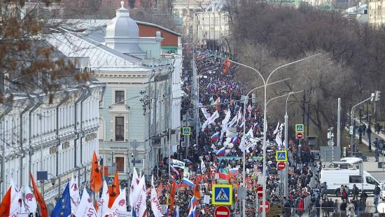 """Tausende fordern """"Russland ohne Putin"""""""