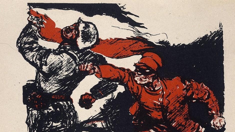 Fakenews anno 1924: Die Deutschnationale Volkspartei (DNVP) macht bei der Reichstagswahl mit der Dolchstoßlegende gegen SPD und Zentrum mobil.