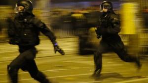 Bewährungsstrafe wegen Angriffs auf Polizisten