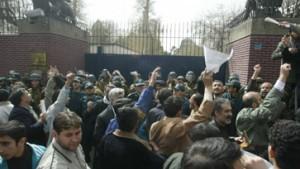 Lastwagen explodiert vor britischer Botschaft in Teheran