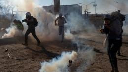 Mexiko fordert Ermittlungen nach Tränengaseinsatz an der Grenze