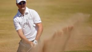 Zach Johnson führt bei der British Open