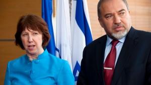 Israels Außenminister macht sich über Ashton lustig