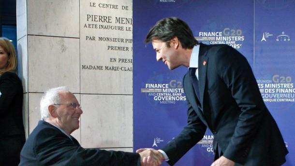 Schäuble für europäische Fiskalunion