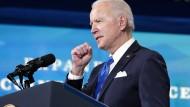 America is back? Präsident Joe Biden am Mittwoch