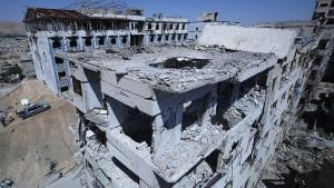 Bürgerkriegsland Syrien übernimmt Vorsitz in Abrüstungskonferenz