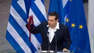 """""""Alexis Tsipras ist ein politisches Chamäleon"""""""