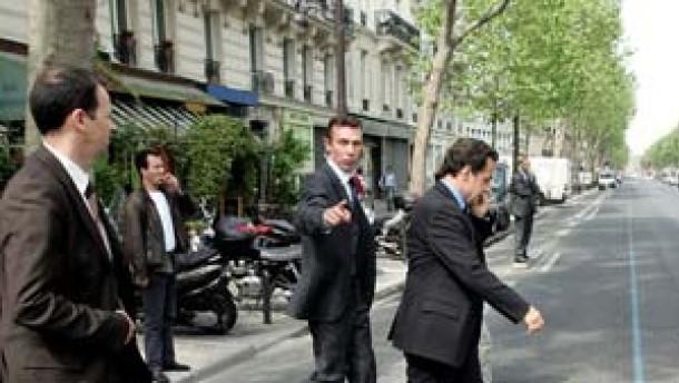 Sarkozy setzt auf Richtungsstreit