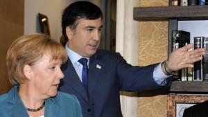 Merkel in diplomatischer Mission