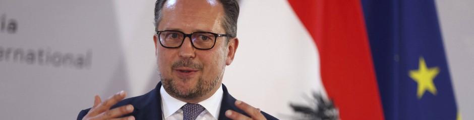 Österreichischer Außenminister Alexander Schallenberg