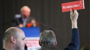 Lafontaine Spitzenkandidat der Linkspartei
